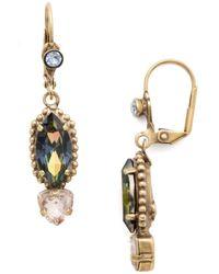 Sorrelli Ebony French Wire Dangle Earring - Blue