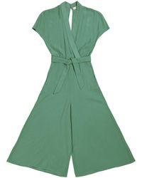 TOMCSANYI Budapest Lucky Green Kimono Jumpsuit
