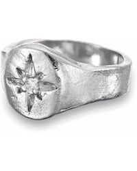 Chupi - Your North Star Ring In Silver - Lyst