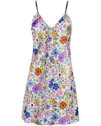 Jessica Russell Flint Short Slip - Multicolour