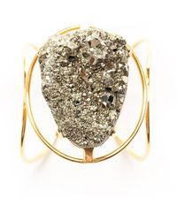 Tiana Jewel - Marly Pyrite Bracelet - Lyst