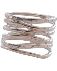 Elena Jewelry Concepts - Silver Wave Ring - Lyst