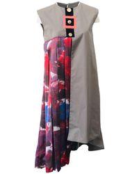 ARSHYS Gustav Pleated Dress - Gray