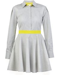 blonde gone rogue Relove Sustainable Dress In Gray