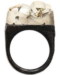 Tiana Jewel - Ember-pyrite-ring - Lyst