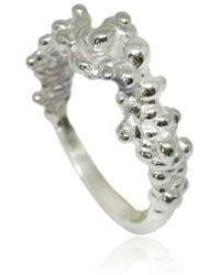 Karolina Bik Jewellery Mammatus Ring Silver - Metallic