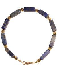 Shinar Jewels Lapis Lazuli Egyptian Bracelet - Multicolour