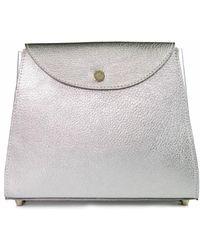 C.Nicol - Pippa Midi Clutch Silver - Lyst