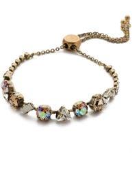 Sorrelli Cherished Slider Bracelet - Metallic