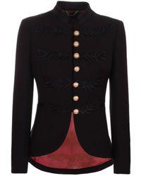 The Extreme Collection Black Military Blazer Renata Black