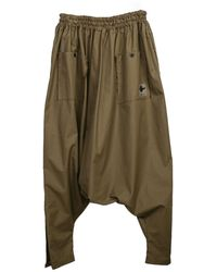 Zsigmond Dora Menswear Kese Baggy Trousers - Green