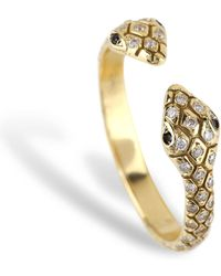 Nayla Arida - Double Head Snake Ring - Lyst