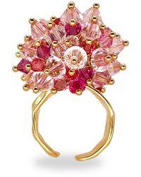Annele Cherry Blossom Ring - Multicolour