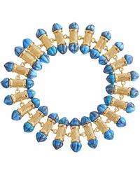 LMJ Twisted Rays Bracelet - Blue