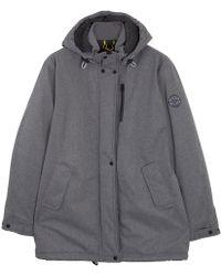 Roamers & Seekers - Wanderland Grey Quilted Parka Jacket - Lyst