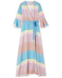 Jessica Russell Flint Wrap Kimono Dress - Multicolour