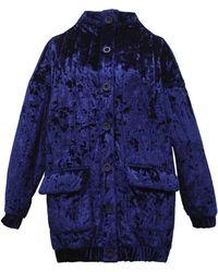 TOMCSANYI - Vera High Neck Velvet Jacket - Lyst
