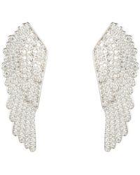 LÁTELITA London - Large Angel Wing Earring Silver - Lyst