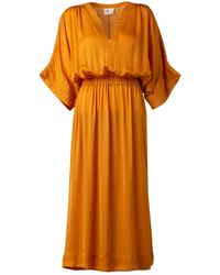 LITTLE THINGS STUDIO Mullusk Dress - Orange