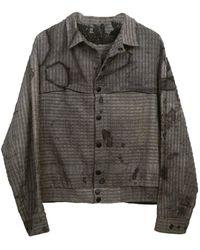 Zsigmond Dora Menswear Farkas Jacket - Grey