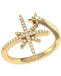 LMJ North Star Duo Ring In 14 Kt Yellow Gold Vermeil On Sterling Silver - Metallic
