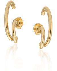 Larsson & Jennings Gold Liv Earrings - Metallic