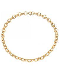 Astley Clarke Stilla Arc Chain Choker - Metallic