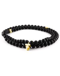 Tissuville Labyrinth Necklace - Black