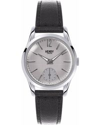 Henry London - Ladies 30mm Piccadilly Leather Watch - Lyst