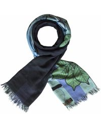 Furious Goose - Foxes Winter Reversible Long Scarf - Lyst