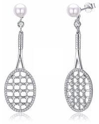 Opes Robur - Tennis Racket Earrings - Lyst