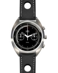 MHD Watches - Mhdcr1 With Black Dial & Black Strap - Lyst