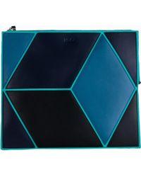 HEIO - The Cube Macarella Medium Clutch - Lyst