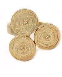 Kitik Jewelry - Sacha Gold Ring - Lyst