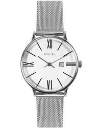 ADEXE Watches Meek Petite Silver - Metallic