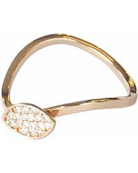 Sadekar Jewellery - Shuttle Ring In Diamond - Lyst