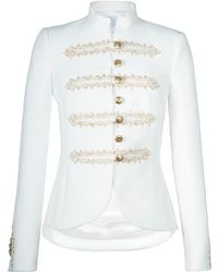 The Extreme Collection - Claudia Suite White Blazer - Lyst