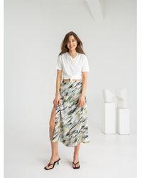 Flow Wrap Me Skirt - Multicolour