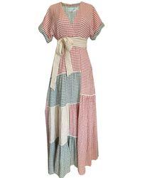 DANEH Gingham Dress - Multicolour