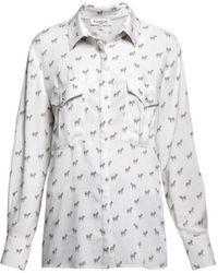 Rumour London Kenya Zebra Print Shirt - Multicolour
