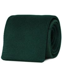 Tom Astin Moss Boss Necktie - Green