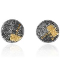 Katarina Cudic Elements Round Earrings - Metallic