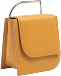 Lautem - Pascal Leather Bag Siena - Lyst