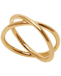 Eshvi - Capsule Ring - Lyst