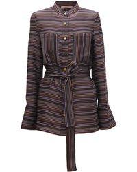 TOMCSANYI - Sarajevo Tie Belt Shirt - Lyst