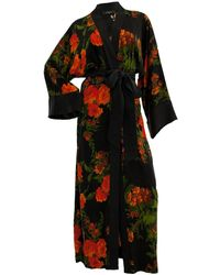 niLuu Olivia Women's Kimono Robe - Multicolour