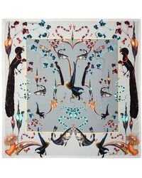 Klements | Rainbow Trout Medium Square Scarf | Lyst