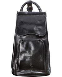 Maxwell Scott Bags | Luxury Italian Leather Women's Backpack Handbag Carli Black | Lyst
