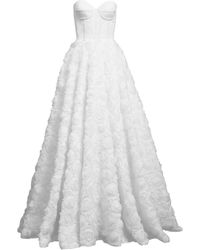 MATSOUR'I Wedding Dress White Rose