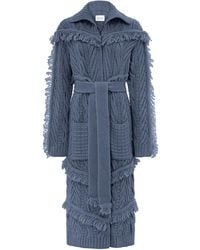 Hayley Menzies - Long Etta Cardi-coat Denim - Lyst